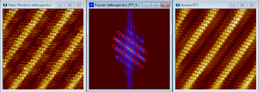 SPIP User's Guide - Selective Fourier Filtering
