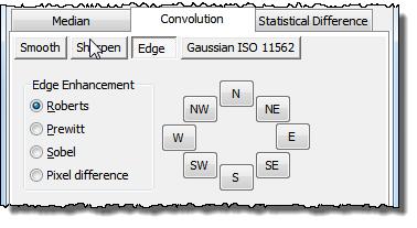 SPIP User's Guide - Edge enhancement filters