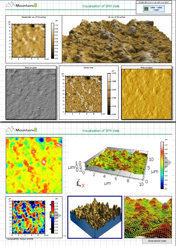 MountainsSPIP document interface